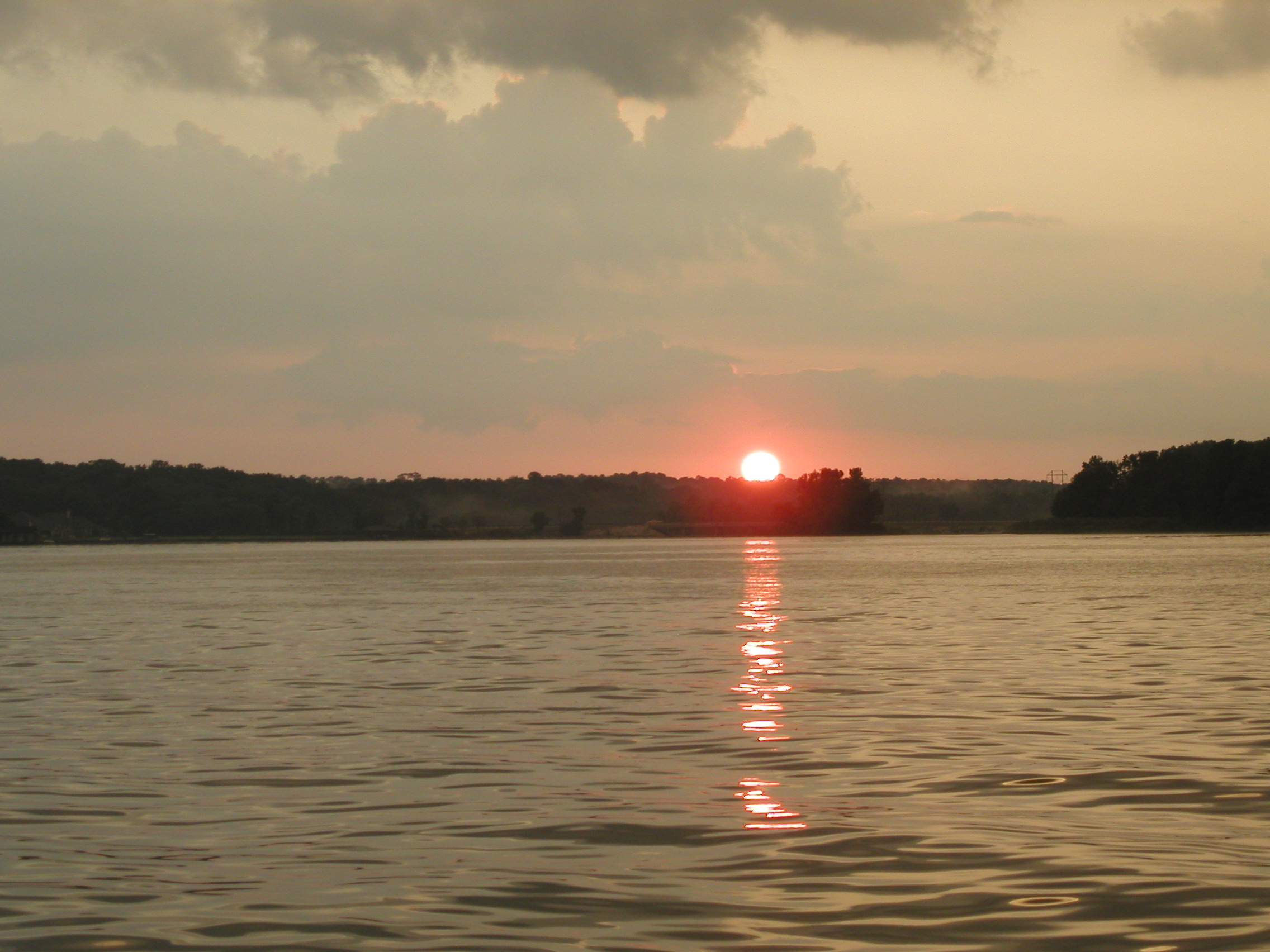 Lake Conroe by Gillham