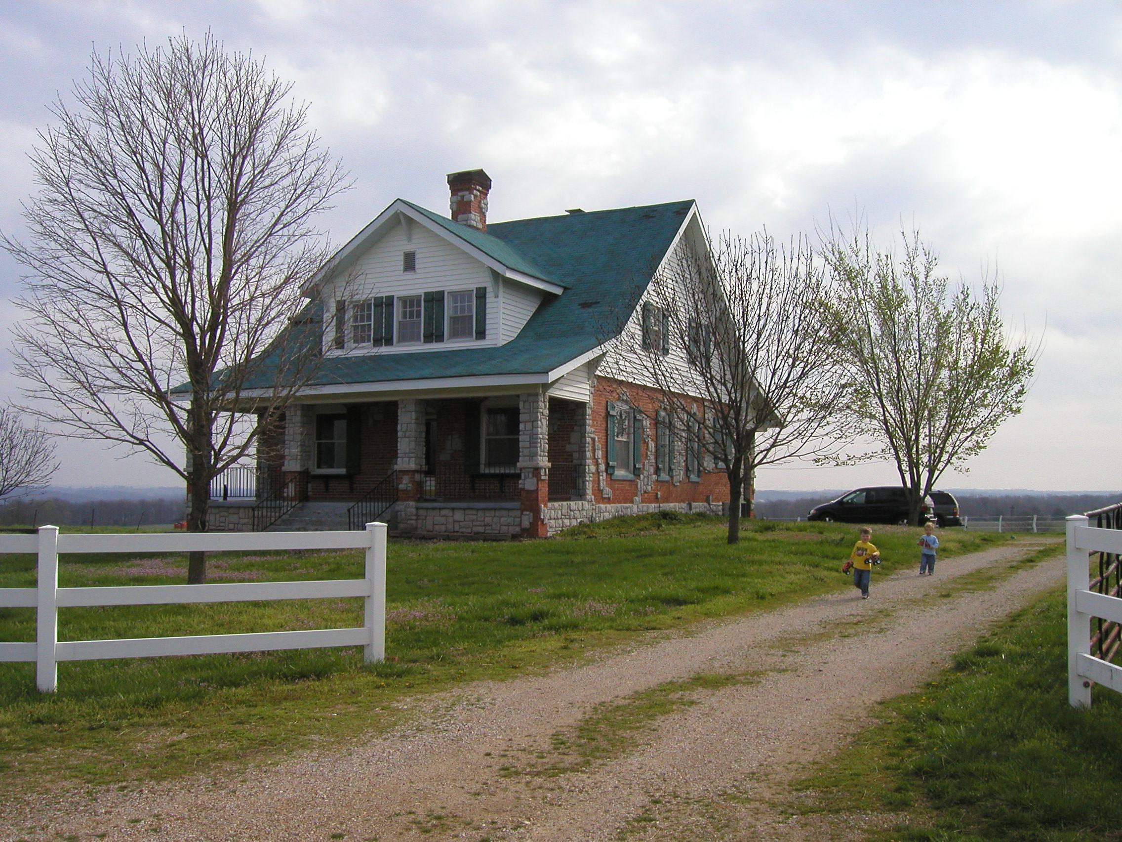 Martin Farm near Bono, MO--a grand place to play