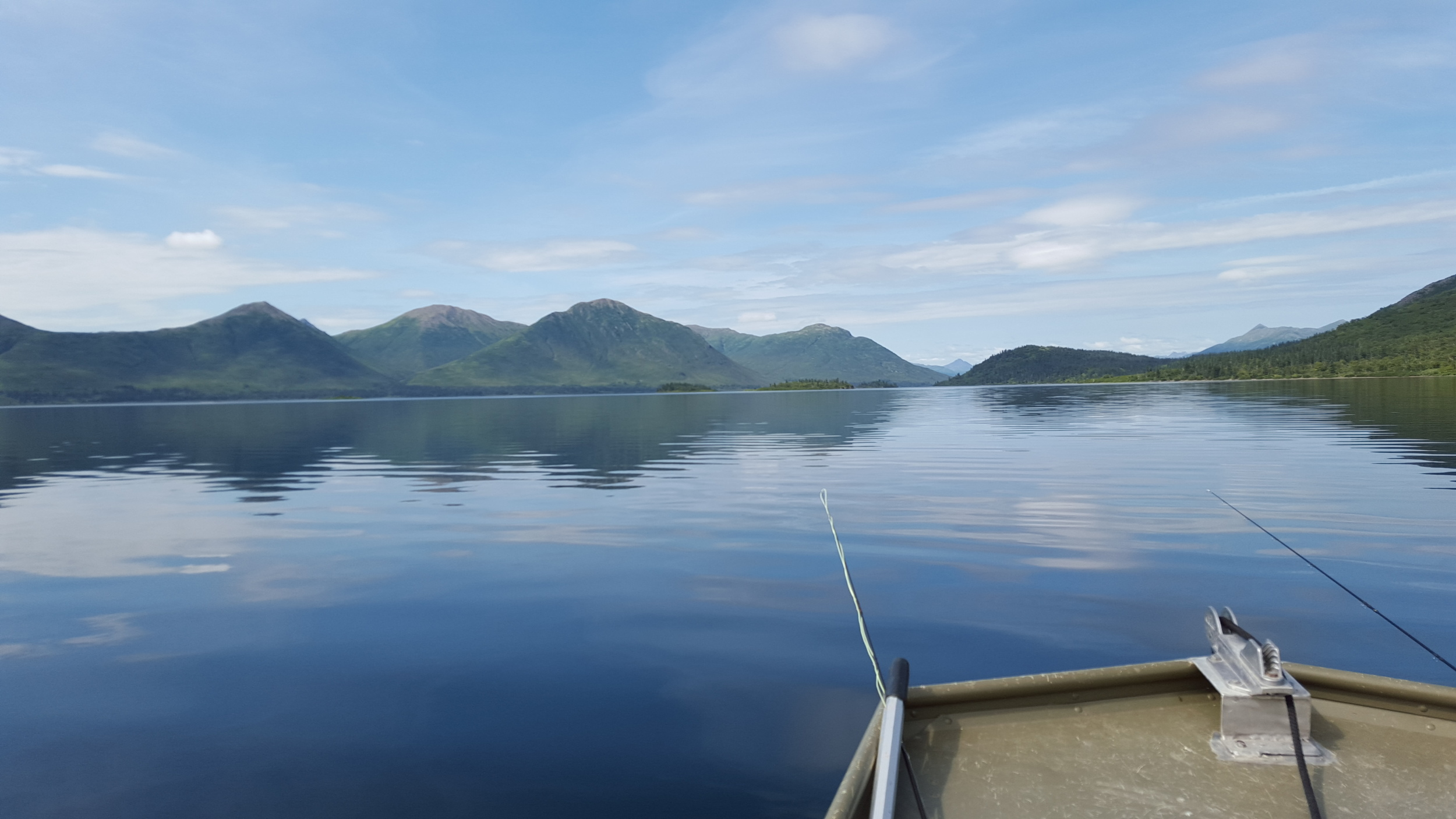 Aleknagik and calm waters