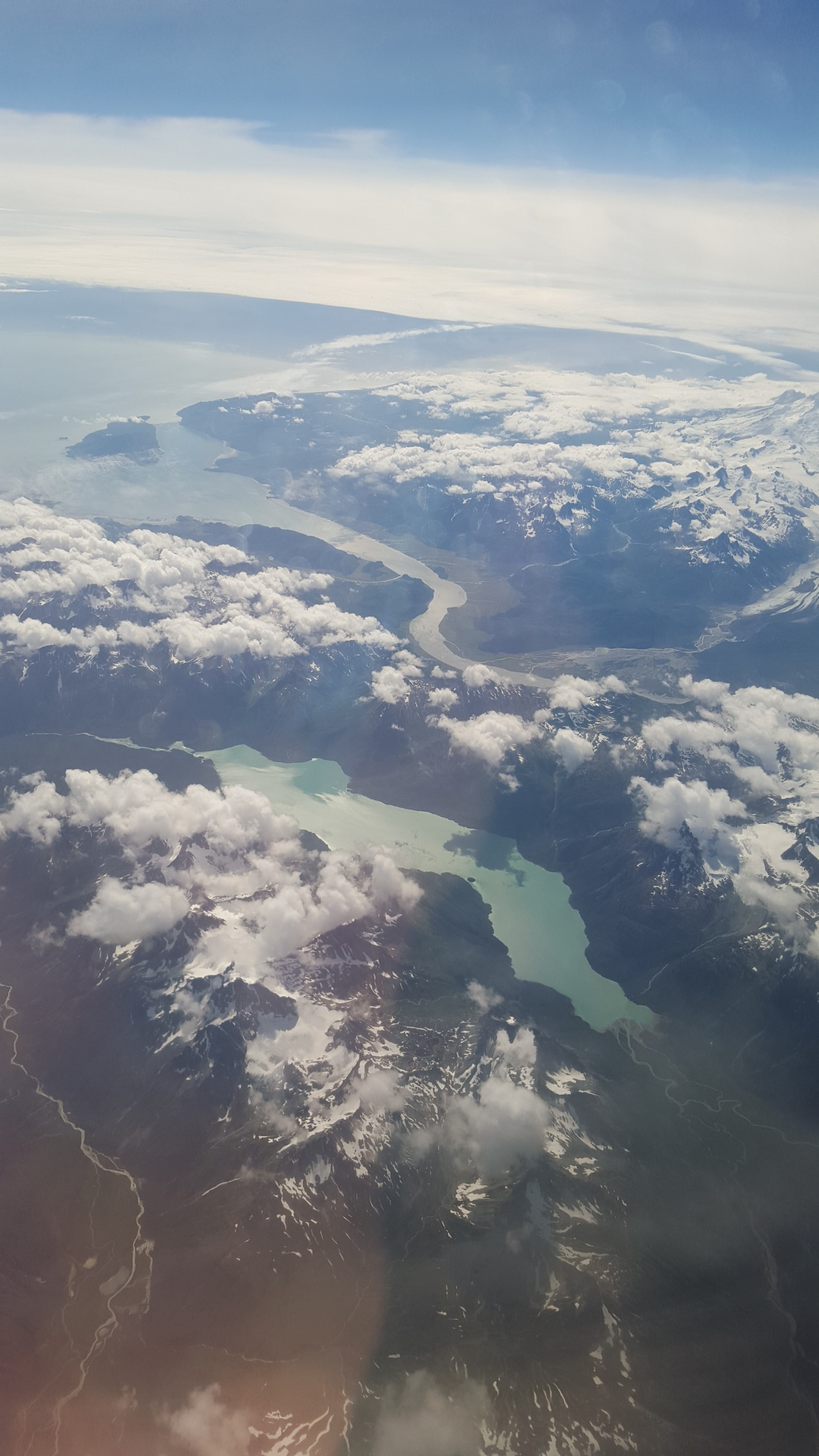 Over Bristol Bay