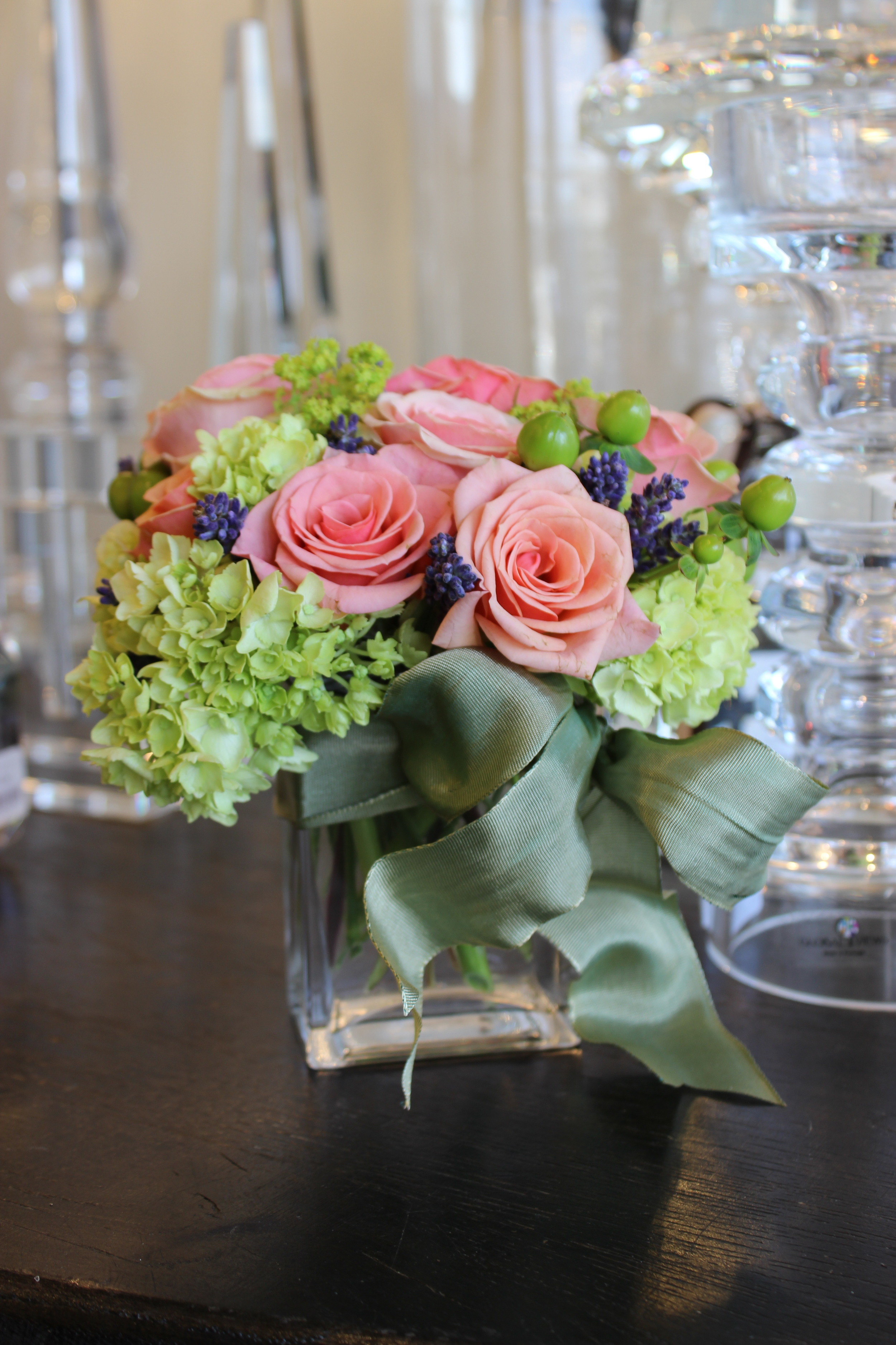 Nosegay of Roses, Hydrangea. From $35.00