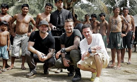 David Beckham in the Amazon Rainforest