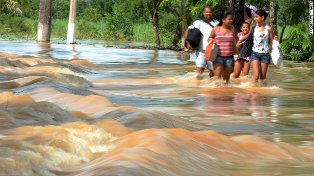 Flooding in Brazil