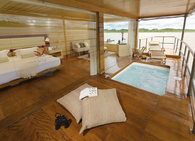 Delfin I Master-Suite with a Plunge Pool