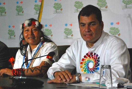 amazonian activists