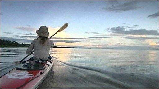 Kayaking the Amazon River