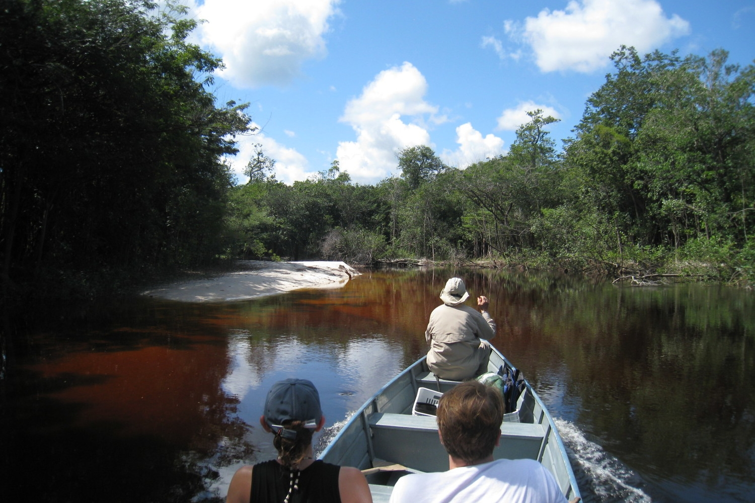 Low Water Season in the Amazon