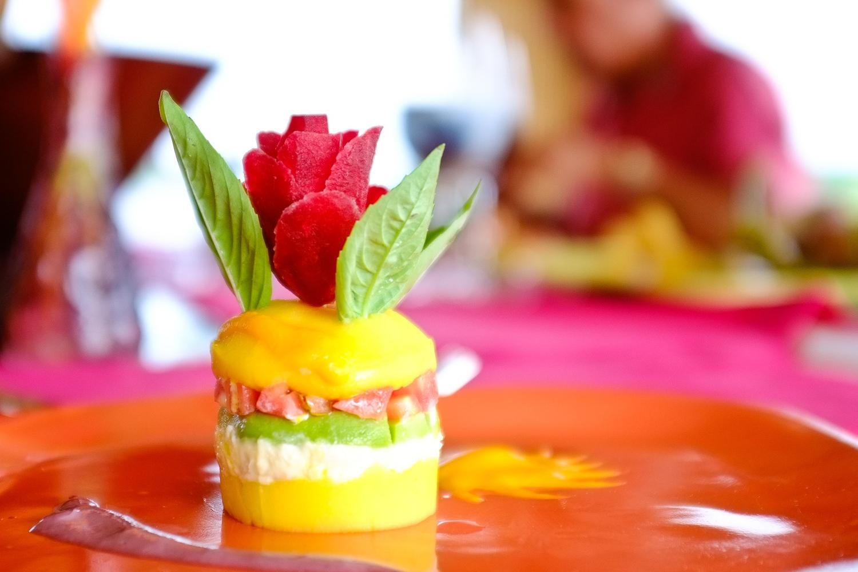 gourmet honeymoon cuisine