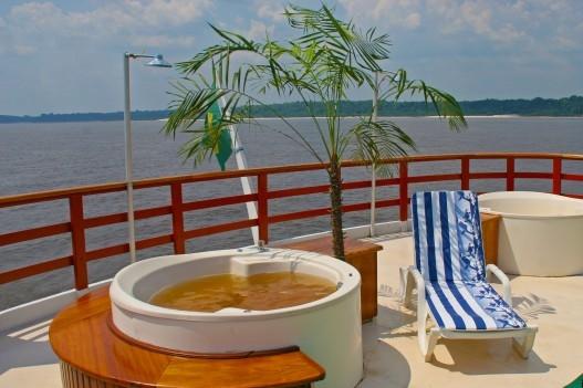 amazon cruise public areas