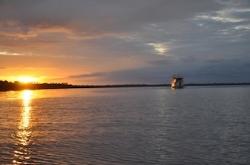 clipper amazon sunset