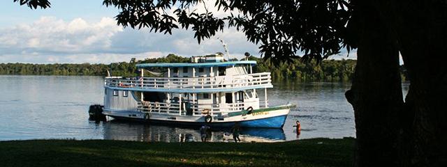 Jacare-Tinga Amazon Cruise Itinerary