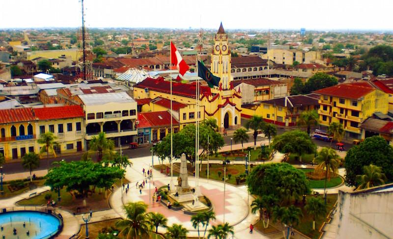Iquitos Main Square