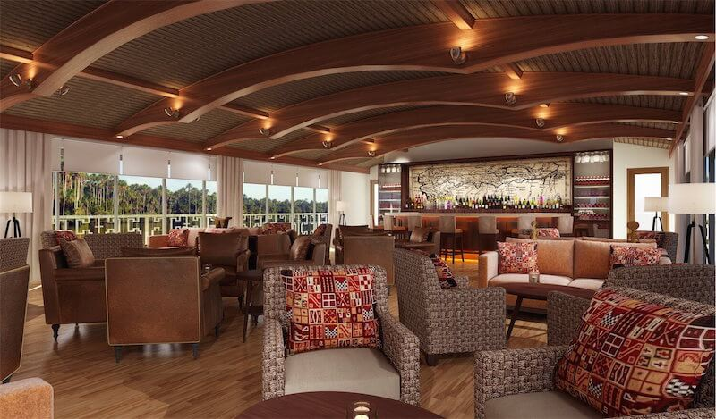 Canopy Lounge: Air-Conditioned Lounge on the Amazon Discovery