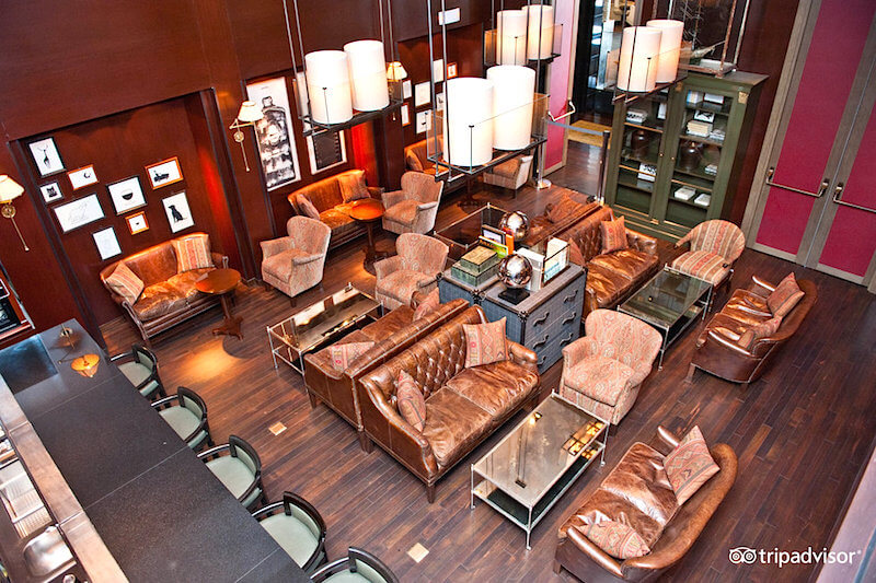 Lounge at the Westin Hotel, San Isidro