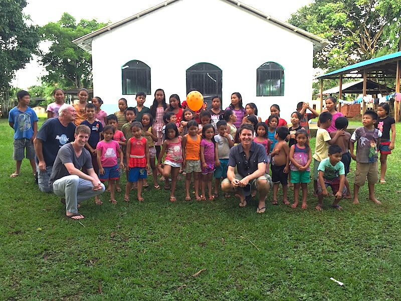 Local community visit, Brazilian Amazon region