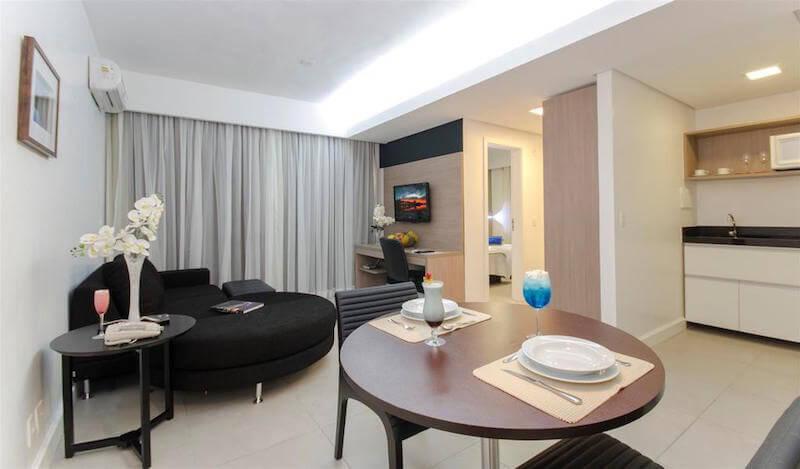 Suite at the Adrianopolis Hotel, Manaus