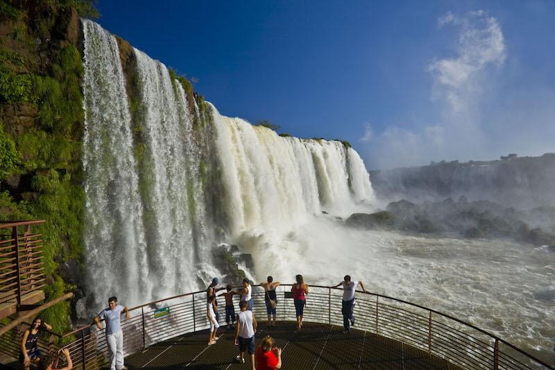 Observing the Iguazu Falls Landscape