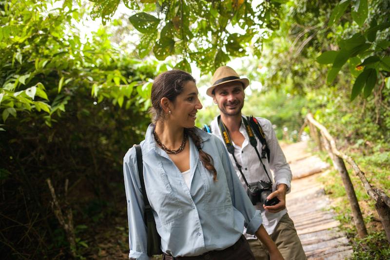 Jungle Excursions on the Delfin Amazon Cruise.