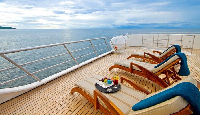 Ocean Spray Galapagos Cruise Deck