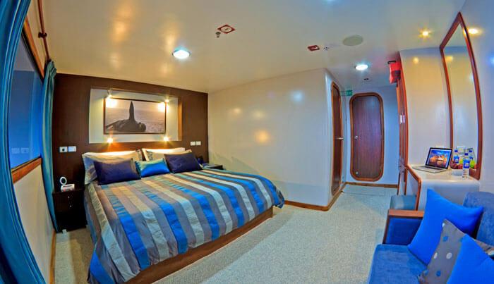 Ocean Spray Galapagos Cruise Cabin