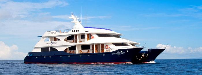Ocean Spray Galapagos vessel