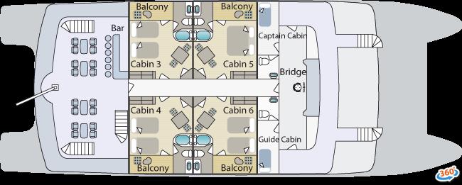 Cormorant Upper Deck