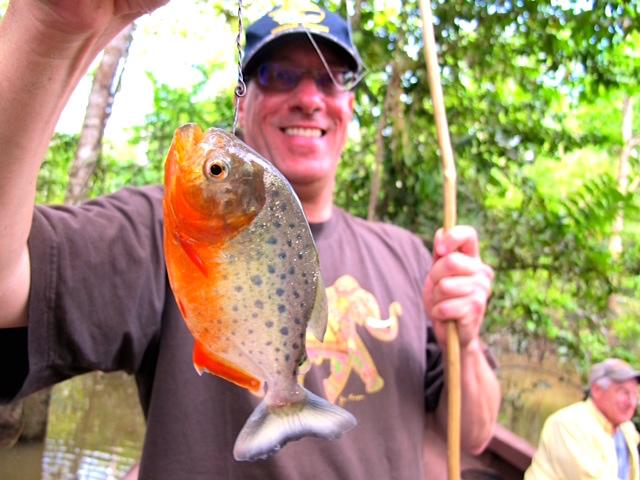 Piranha Fishing Excursion