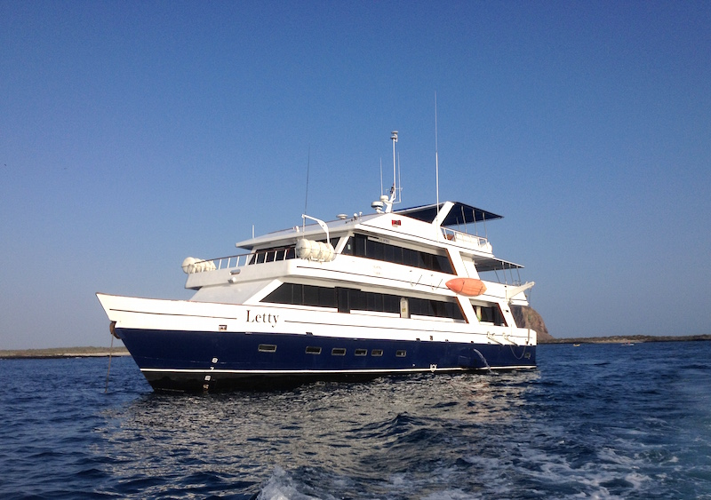 Letty Galapagos Cruise Boat