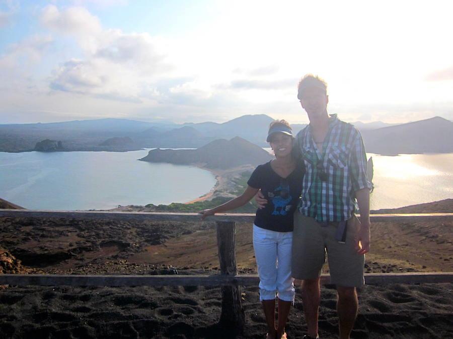 Views from Bartolome Island