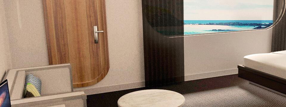 Petrel luxury cabins
