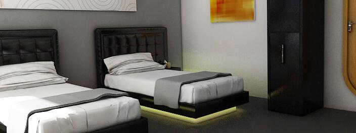 Petrel luxury beds