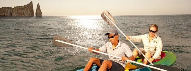 Galapagos kayaking