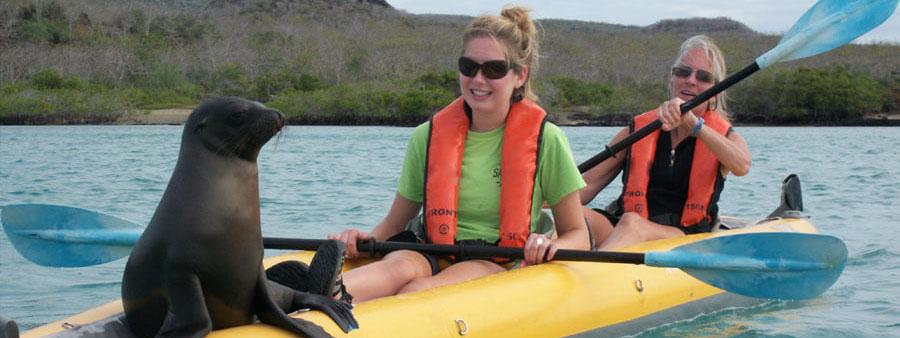 Galaxy kayaking