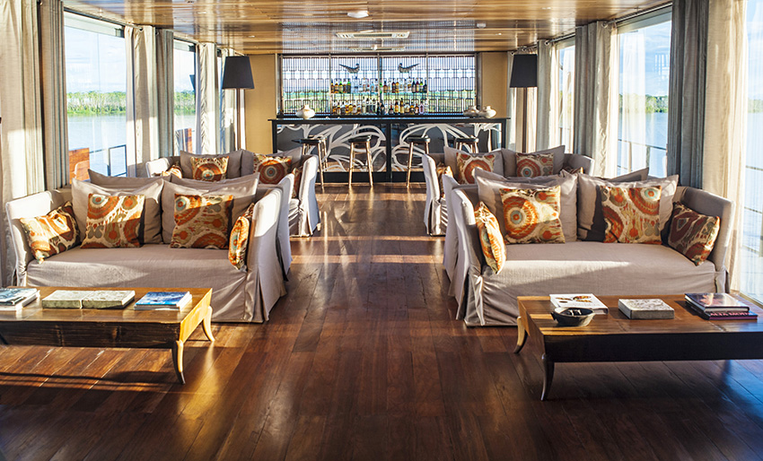Aria Amazon Lounge Upgrade