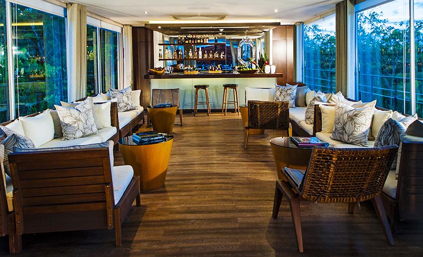 Aqua Amazon Lounge Upgrade
