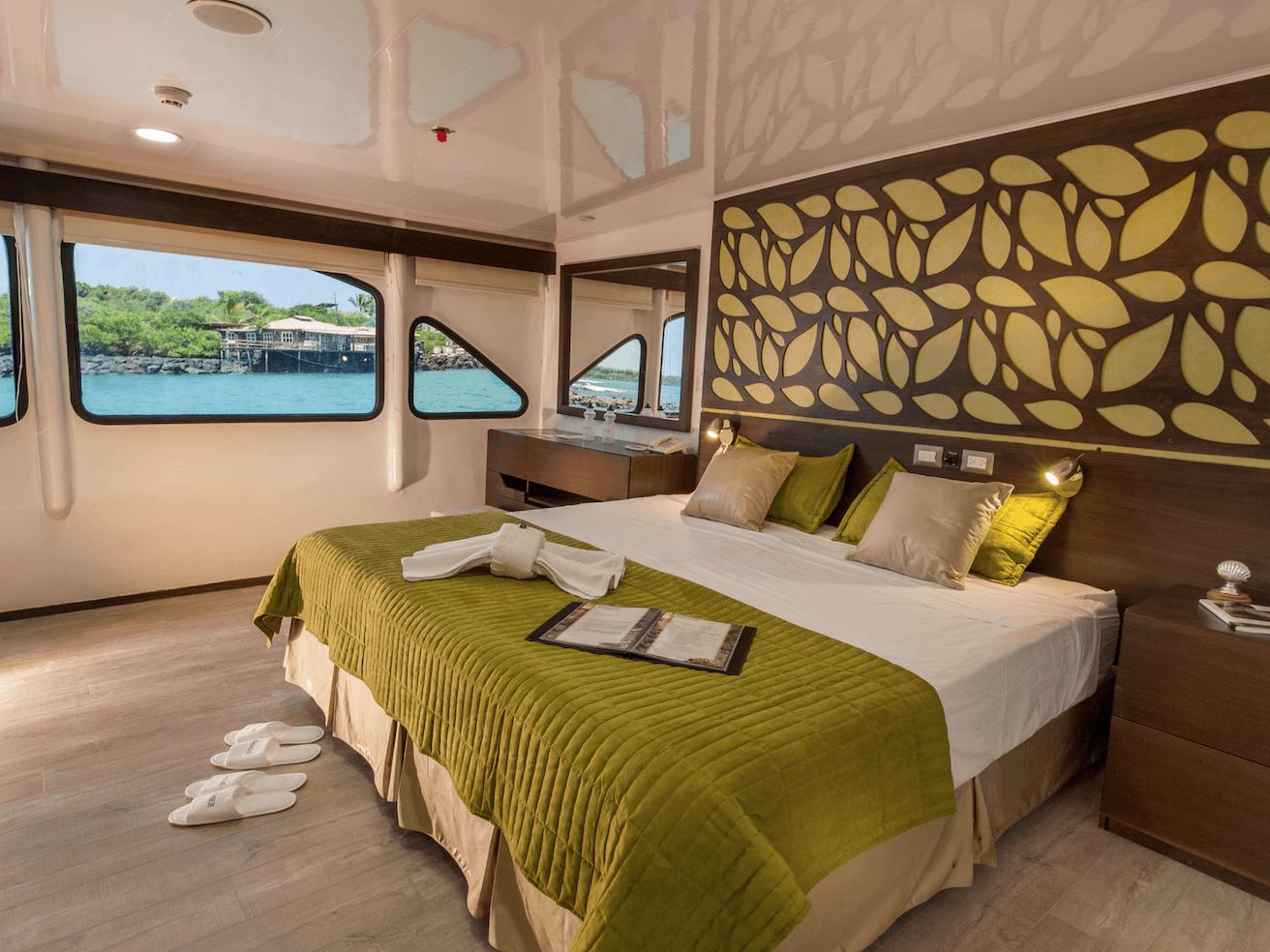 Galaxy II Galapagos Cruise Cabin