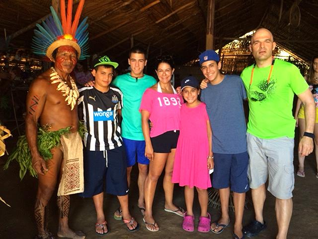 Levey Family Amazon Tour