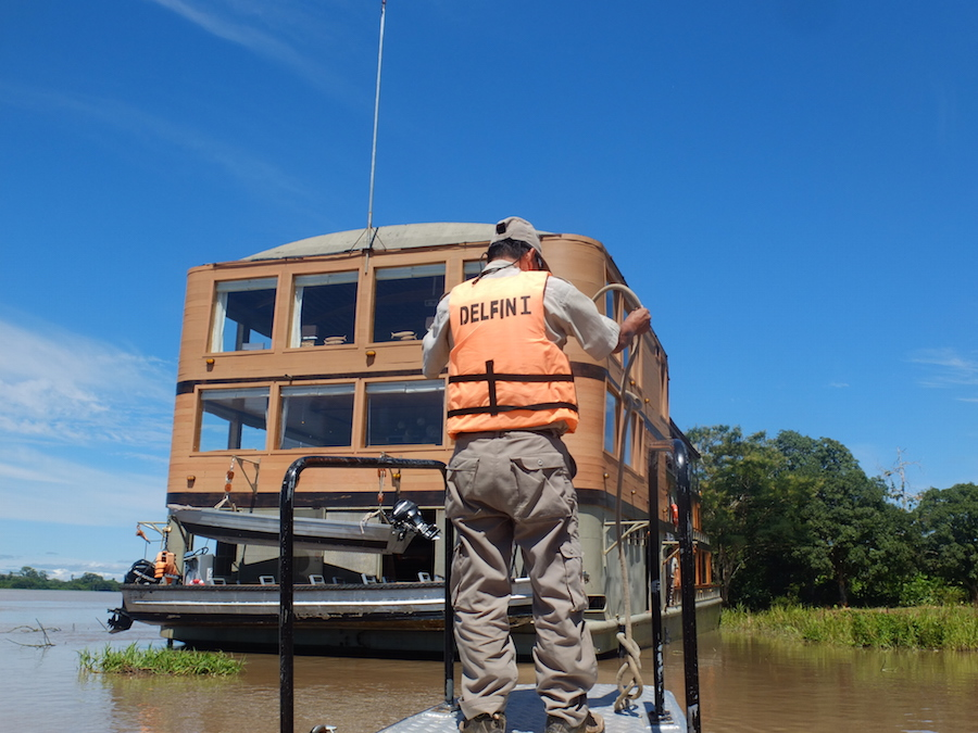 Most Amazon cruise guides are trained in First Aid.