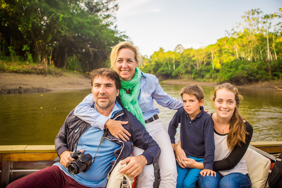 family amazon tour