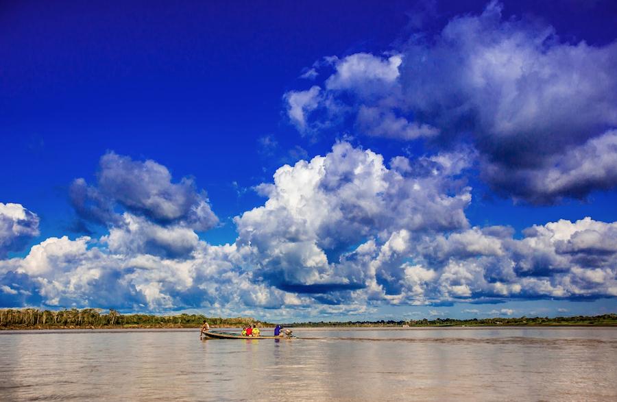 amazon river scenery