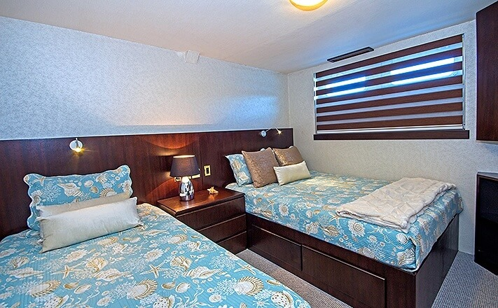 Passion Galapagos Cruise Stateroom