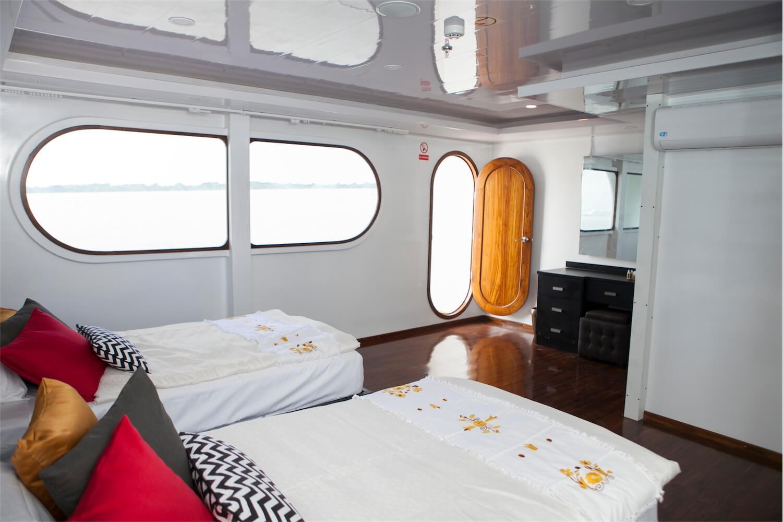 Petrel Galapagos Cruise Double Cabin