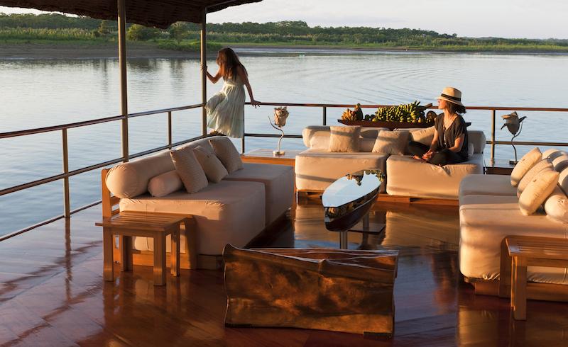 Luxury Amazon Cruise in Peru.