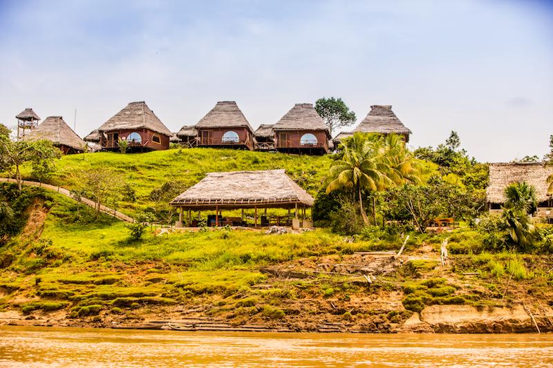 Amazon lodges around Iquitos.