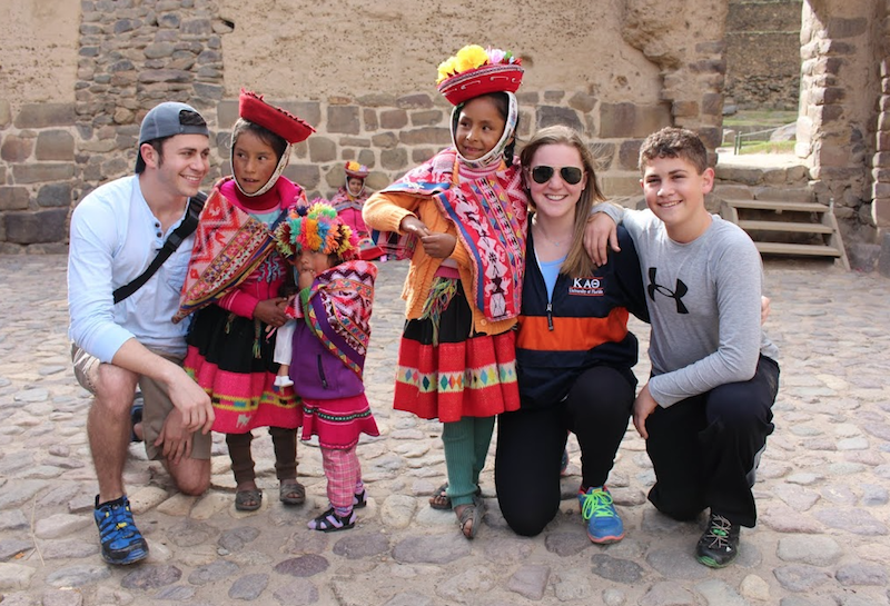 Tradition folkloric dresses in Cusco.