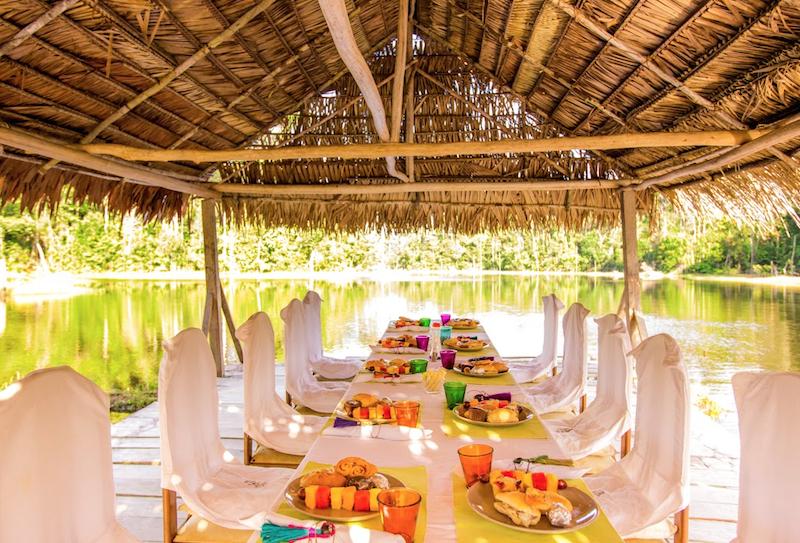 Breakfast in the Amazon