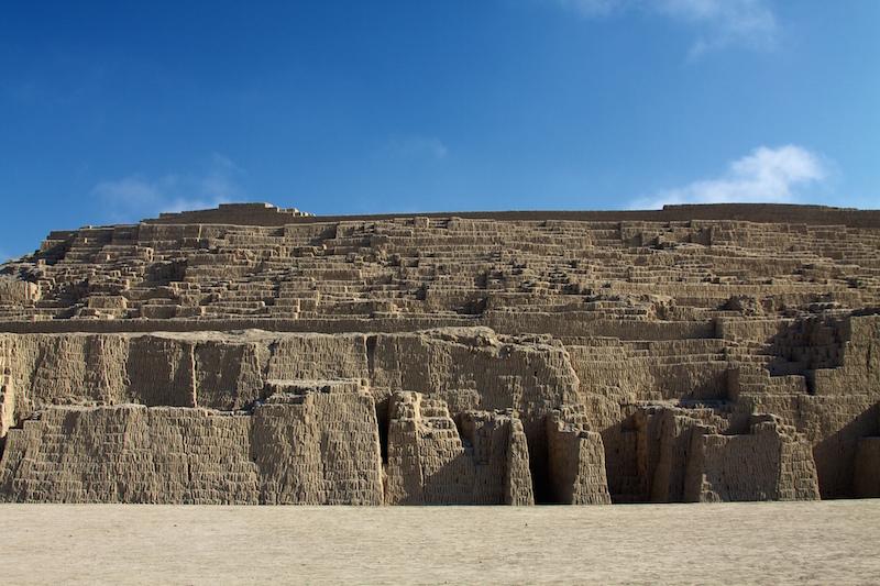 Ruins of La Huaca Pucllana