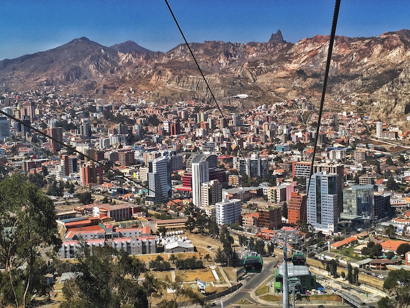 La Paz, Bolivia. (ph. Wikipedia)