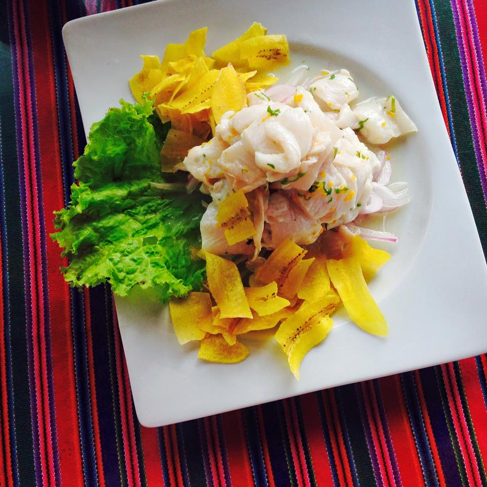 Peruvian Ceviche from the North of Peru (Tumbes).