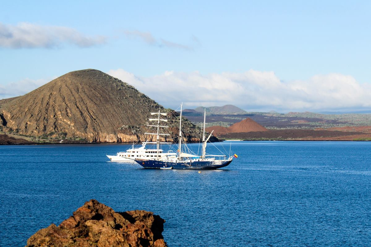 The Mary-Anne and Passion Galapagos Cruises
